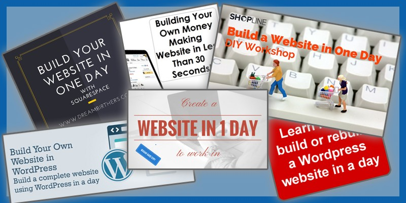Build Your Own Website In A Day?  For Free?